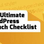 WordPress Website Launch Checklist